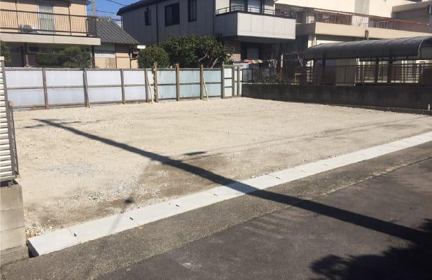 建物解体+駐車場設計プラン