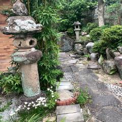 庭石・灯篭・置石