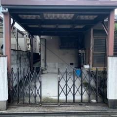 鉄骨造車庫(基礎共)